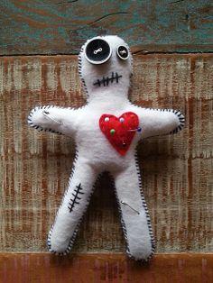 Voodoo - felt doll
