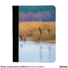 flying canadian geese padfolios