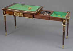 A Fine Louis XVI Style Parquetry Inlaid Games #Table By François #Linke - #adrianalan #gamestable #antique