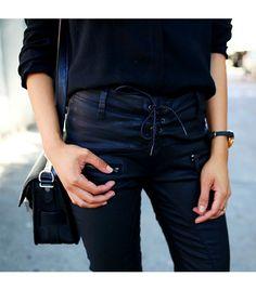 Love Affair-- Free People Vegan Leather Skinny Pants