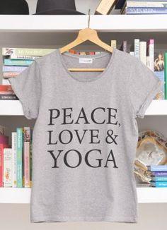 Peace, Love & Yoga T-Shirt