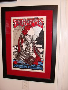 Black Crowes, San Fran 08 by David D'Andrea... Great poster!
