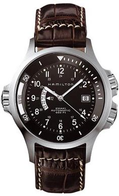 H77615833 - Authorized Hamilton watch dealer - Mens Hamilton Navy GMT, Hamilton watch, Hamilton watches
