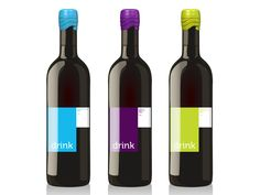 Drink Wine Label (Concept) on Packaging of the World - Creative Package Design Gallery