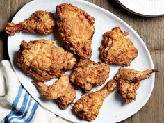 Get Oven-Fried Chicken Recipe from Food Network