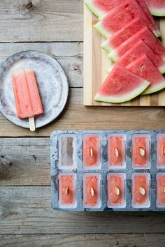 Watermelon Lime Popsicles are the perfect summer flavors in a perfect summer popsicle