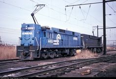 RailPictures.Net Photo: CR 4416 Conrail E-44 at Kearny, New Jersey by Charles Freericks