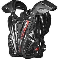 EVS Vex Chest Protector Motosport, Body Armor, Fit 4, Golf Bags, Motor Parts, Motocross, Bike, Stylish, Black