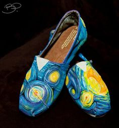 Toms..and that's why I want these...Van Gogh Toms...lurve!!!