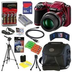 Nikon COOLPIX L820 16 MP Digital Camera with 30x Zoom