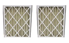 2 GeneralAire Pleated HVAC Filters, MERV-8 Rating, Approx Size: 20x25x5
