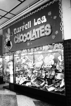 Friday flashback to the Darrell Lea chocolate shops