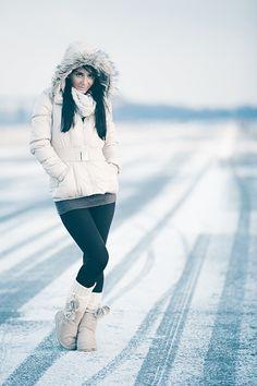 snow portrait by RICOW de on Winter Senior Pictures, Winter Photos, Winter Pictures, Senior Photos, Senior Girl Photography, Snow Photography, Photography Poses, Female Senior Portraits, Snow Girl