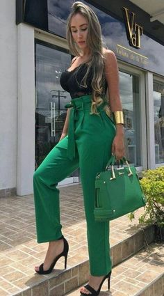 Summer Work Outfits, Spring Fashion Outfits, Trendy Fashion, Womens Fashion, Classy Fashion, Summer Wardrobe, Fashion Clothes, Fashion Fashion, Classy Dress