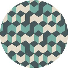 Surya Sawyer Teal Blue/Teal Area Rug & Reviews | Wayfair