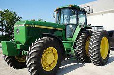 1992 John Deere 4560 Mfwd Tractor One Owner Super Nice