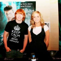 Keep calm and bang hermione :) hahhahaa. <3 they love each other ;) I just know it!