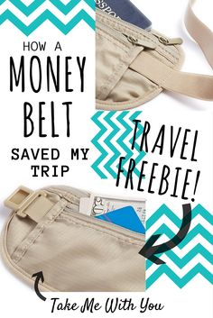 Enter to win a FREE money belt & how a money belt will make your travels worry-free.