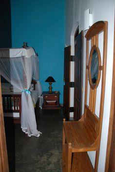 Villa Sepalika - Détails de la chambre bleue