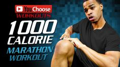 1000 Calorie Marathon Non-Stop Extreme HIIT Workout | You Choose: Day 27
