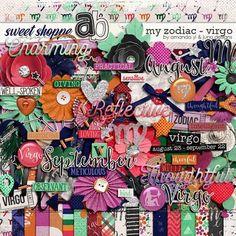 My Zodiac - Virgo by Amanda Yi & Juno Designs