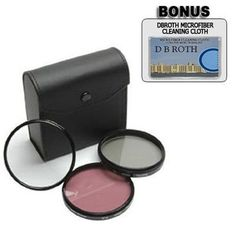 Introducing High Resolution 3piece Filter Set UV Fluorescent Polarizer For The Sony Alpha NEX3N 5T A3000 A7 A7R Digital Camera Which Have The Sony E Series 16mm 1855mm 50mm 55210mm 30mm Lens. Great Product and follow us to get more updates!