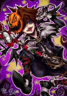 Halloween town Sora artwork