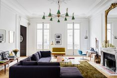 Parisian Interior - Living Room | Got to shoot one amazing a… | Flickr