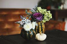 DIY Gourd Vases