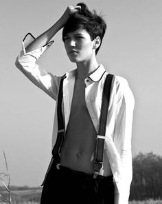 Rock the suspenders! #HowToWear #BoyMeetsGirl