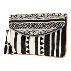 Pochette tissée main   Sacs et Maroquinerie   Comptoir des Cotonniers