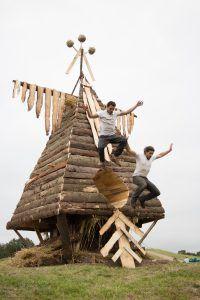 Bird Nest // Skylė // Sculpture by Mantvydas Vilys and Jordi NN