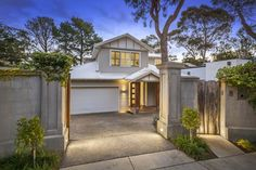 Front Facade Contemporary Weatherboard