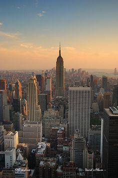 Empire State Building in New York City Manhattan
