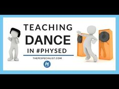 A helpful resource giving examples on lots of ways to teach dance to kids in Elementary School Elementary Physical Education, Elementary Pe, Health And Physical Education, Science Education, Pe Lessons, Dance Lessons, Gymnastics Lessons, Dance Games, Pe Games