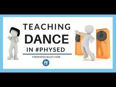 Teaching Dance in Elementary Physical Education Elementary Physical Education, Elementary Pe, Health And Physical Education, Science Education, Pe Lessons, Dance Lessons, Dance Games, Pe Games, Teach Dance