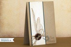 Geburtstagskarte - Fine Feathers ♥ Stempelwiese