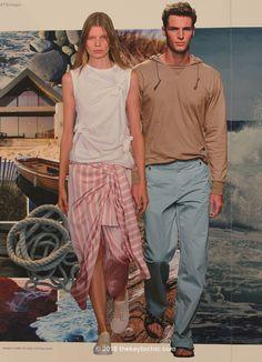 Raw Coast Trend spring summer 2017 fashion trend forecast