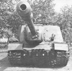 Heavy self-propelled gun ISU-152-2 with 152,4 mm BL-10 gun, / ciężkie działo samobieżne ISU-152-2 z działem BL-10 kal. 152,4 mm