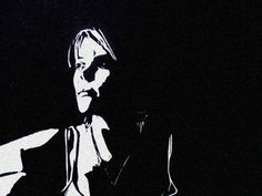 """The Void"" linocut by Mark Rowden. http://www.wingedlionpress.com.au/ Tags: Woman, Female, Darkness, Linocut, Cut, Print, Linoleum, Lino, Carving, Block, Woodcut, Helen Elstone."