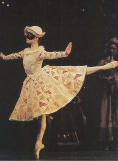 Ballet. Columbine from my favorite version of the Nutcracker-the Royal Ballet's!