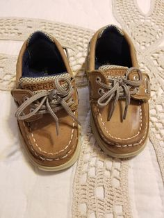 503d491c78285 Boy s Size 7 M Toddler Sperry Lanyard Lace Up Velcro shoes  fashion   clothing