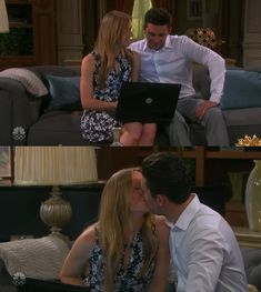 Chad DiMera: You have no idea what it's like to see you happy again. Abby Deveraux: Why wouldn't I be happy? I gave my son breakfast this morning and I get to be your wife again. #Chabby