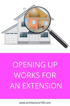 When it comes to drawing up the structural designs for a house extension, the Structural Engineer will sometimes make assumptions about the building before crunching the numbers. Doing so carries risks and where possible it is preferable to carry out opening up works to the property as a means to baseline what is currently there, minimise guesswork and better plan for what needs to be done to open up the new space safely.