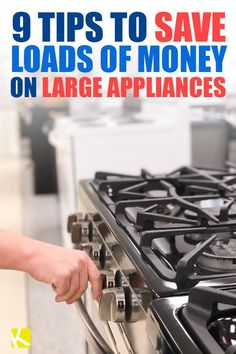 9 Tips to Save Loads of Money on Large Appliances Cheap Appliances, Energy Star Appliances, Best Appliances, Things I Need To Buy, Appliance Sale, Bedding Sets Online, Shopping Hacks, Store Hacks, Cooking Gadgets