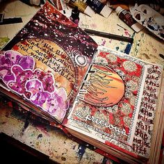 art journal mixed media - Google Search