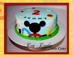 Sammy's Mickey Mouse Club House Cake