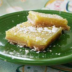 Best-Ever Lemon Bars Recipe | MyRecipes.com