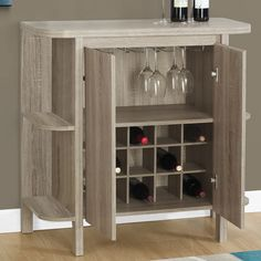 Monarch Specialties Inc. Bar with Wine Storage & Reviews | Wayfair