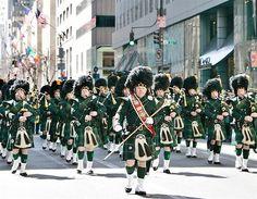 St. Patrick's Day ~ St. Patrick's Day Parade, New York City, NY